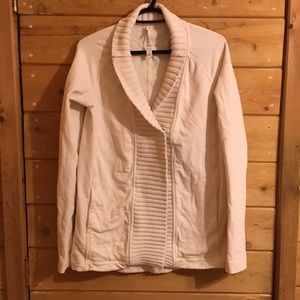 Lululemon wrap cardigan with buttons